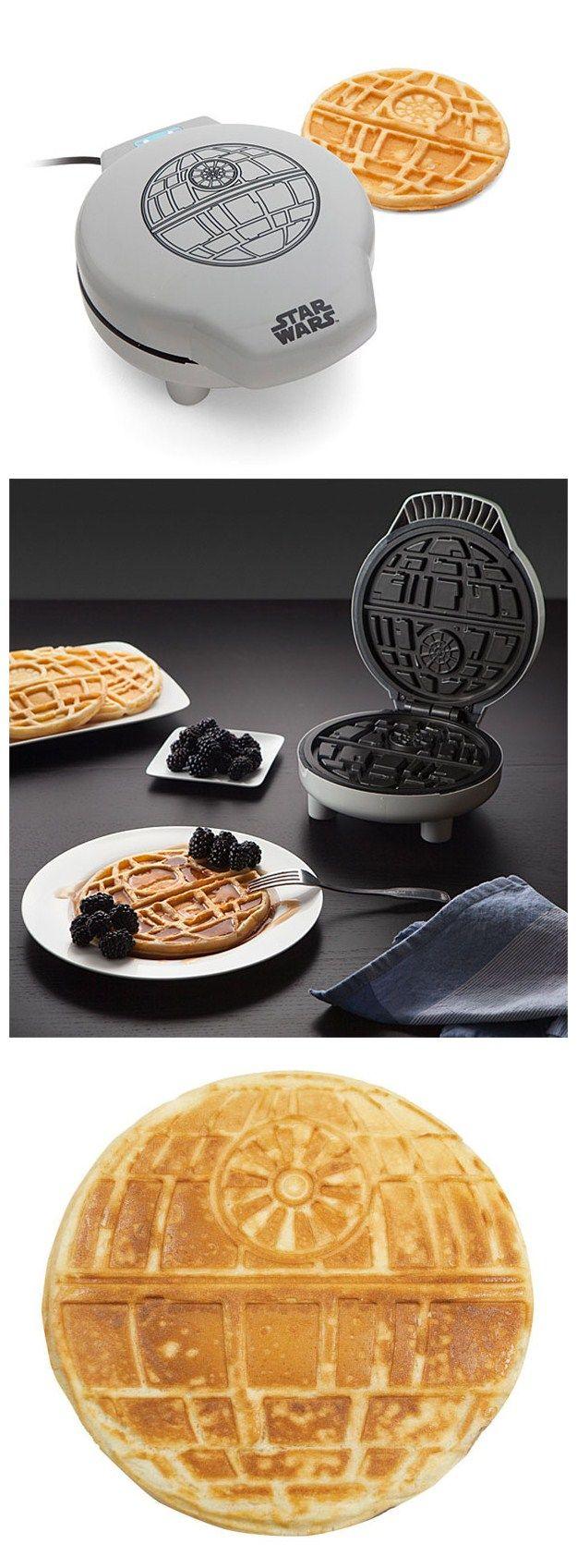 Star Wars Waffle Maker Bakes Death Stars For Breakfast