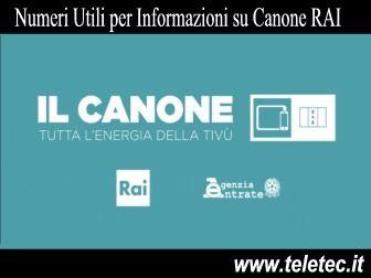 Canone Rai - Tutte le Informazioni Ufficiali