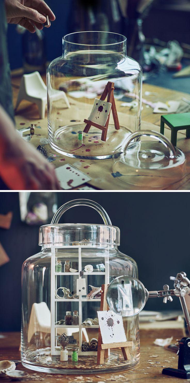 perfect hemsmak ikea dcoration bocaux verre cuisine food. Black Bedroom Furniture Sets. Home Design Ideas