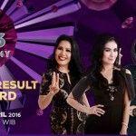 Penampilan Peserta D'academy 3 Konser Result WildCard Sabtu 8 April Malam, Siapa Yang Lolos Babak 5 Besar