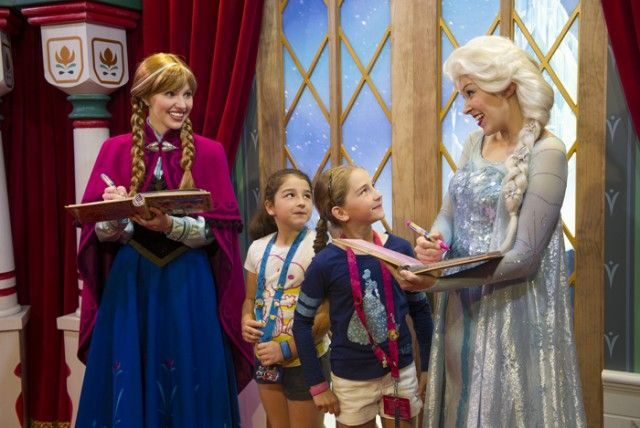 """Where to Find """"Frozen"""" Characters Anna & Else At Disney"""