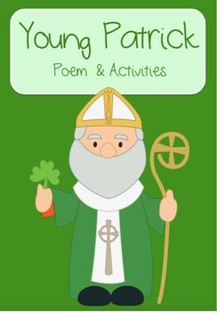 Young PatrickAn original poem about Saint Patrick's early life including extension activities.2 Phonics worksheets focusing on the 'ck' sound.2 writing templates for acrostic poetry1 fun wordsearch using vocabulary from the poem1 cut and order activity that is great for scissor skills and sequencing1 grammar activity focusing on verbs from the poem.**************************************************************************** Winter Poem Winter Poem and Activities.Snow Day Poem Snow Day Poem…
