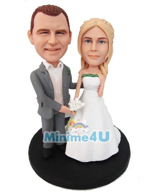we are married custom wedding cake topper template another popular figurine template for new couples