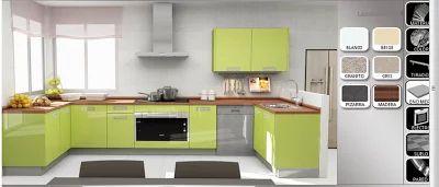 Diseñar cocina, hacer los planos y elegir estilos y colores