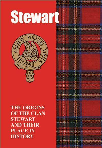 Clan Stewart History Clan Stewart Tartan Origins Mini Book - Home & Garden