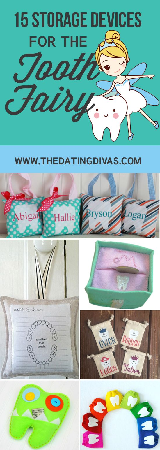 These are cute boxes for the Tooth Fairy. www.TheDatingDivas.com