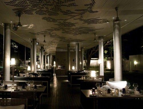 Modern Restaurant Design: Sala Phuket Restaurant #EasyPin