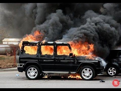 Mercedes Benz Gelandewagen G Class Crash ¦ Аварии Мерседес Гелендваген Г...