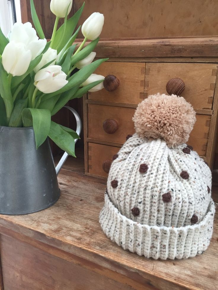 Crochet Club: Ladies Bobbly Bobble Hat on the LoveCrochet blog
