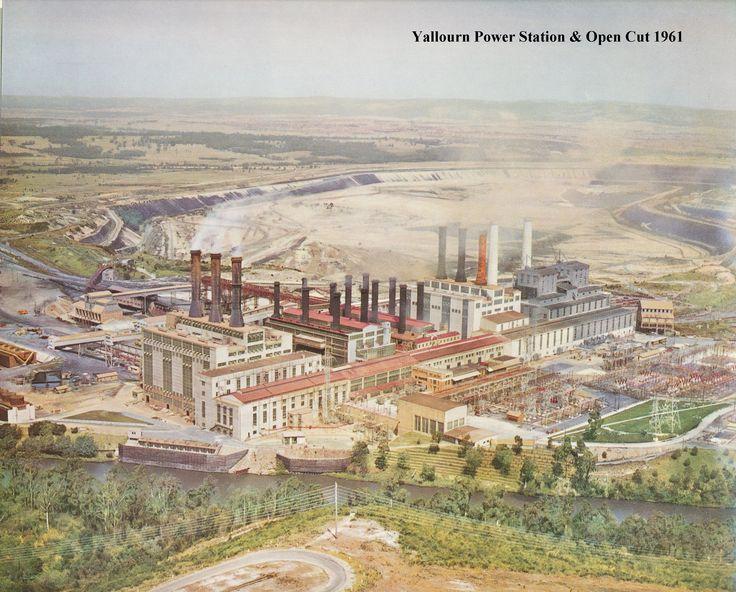 Yallourn Power Station - 1961