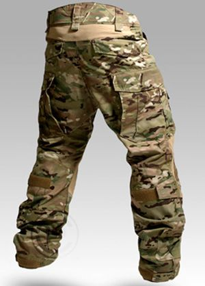 Crye Precision's Multicam combat pants not camo but diff color...hunters grayish?