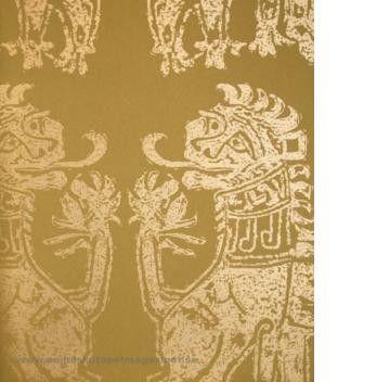 Silican Lions tapeter från Sanderson® (SA173-04) hos Engelska Tapetmagasinet. Köp fraktfritt online eller besök butiken i Göteborg.