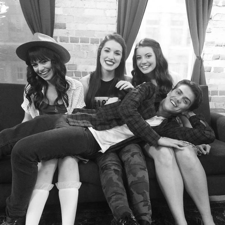 Maggie, Rachel, Leia, and Luke