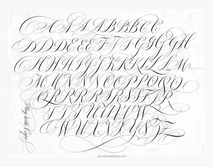 Copperplate By John Stevens Super Calligraphic