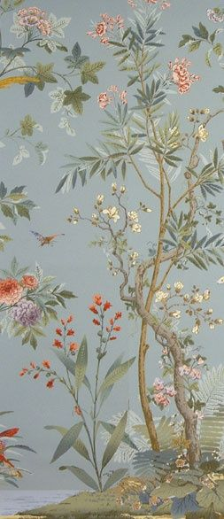 Zuber's decor chinois wallpaper.