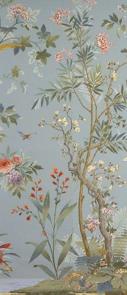 Zuber's decor chinois wallpaper.