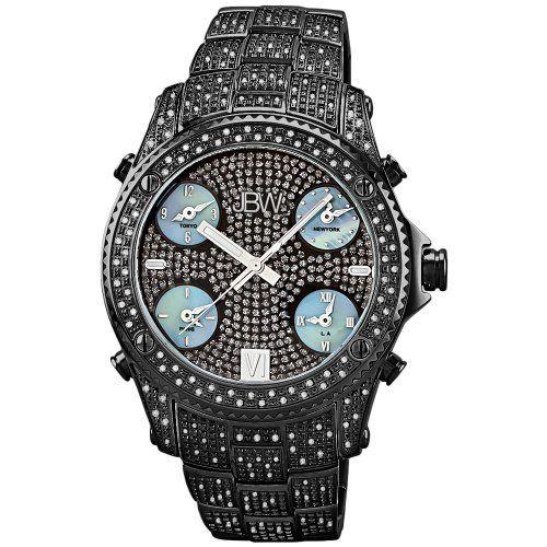 "JBW Men's JB-6213-B ""Jet Setter"" Black Ion Five Time Zone Diamond Watch by JBW, http://www.amazon.ca/dp/B0036B9PHY/ref=cm_sw_r_pi_dp_84i4sb1YQH87C"