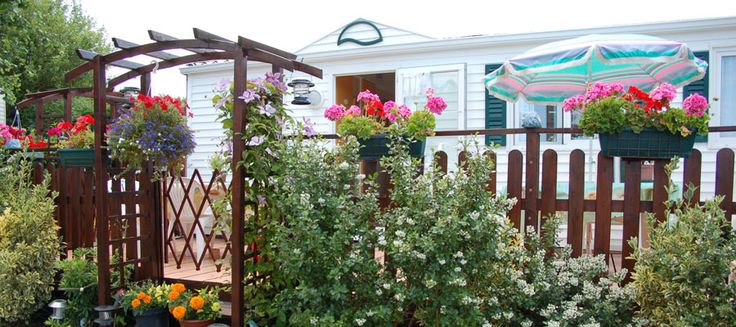 mobile home gardening | You want to become the owner of a second home ?
