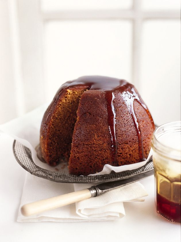 steamed treacle pudding One of my favorite things in England! Sooooo good!