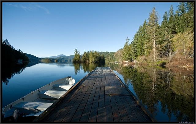 Ruby Lake, Sunshine Coast, BC