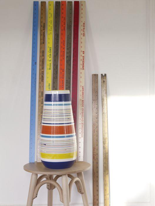 Stripey Cecily vase #Habitat