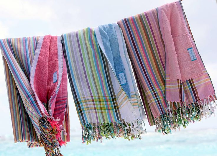 kikoy towels £34