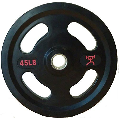CFF Grip Olympic Rubber Coated Weight…