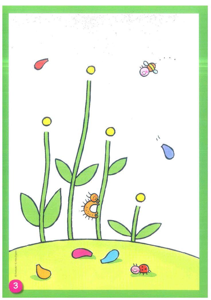 kleikaart bloemen