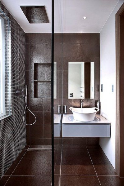 Gallery One Brown modern shower http szarazepiteszetidesign cafeblog hu