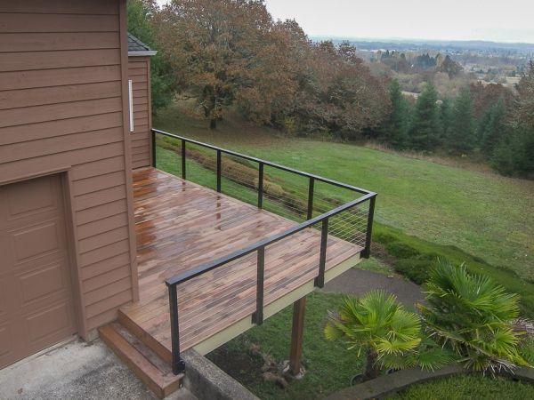 Ipe deck in Philomath Oregon