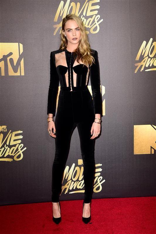 Cara Delevingne Balmain 2016 MTV Movie Awards - Fashion hits and misses at the 2016 MTV Movie Awards