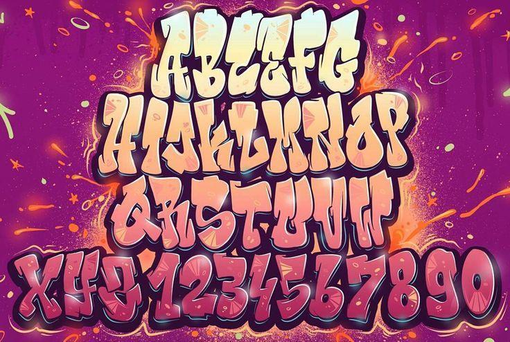 Graffiti, alphabets, fonts, letters | VK - #alphabets #fonts