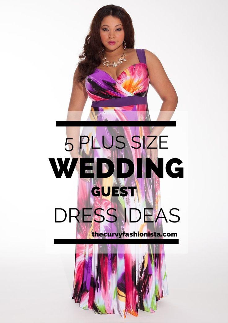 dress wedding guest plus size