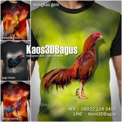 Kaos AYAM BANGKOK, Kaos3D, Kaos Ayam Aduan, Kaos AYAM JAGO, Kaos ANIMAL, Kaos Binatang, Kaos Gambar Ayam, Rooster, Ayam Emas, https://instagram.com/kaos3dbagus, WA : 08222 128 3456, LINE : Kaos3DBagus