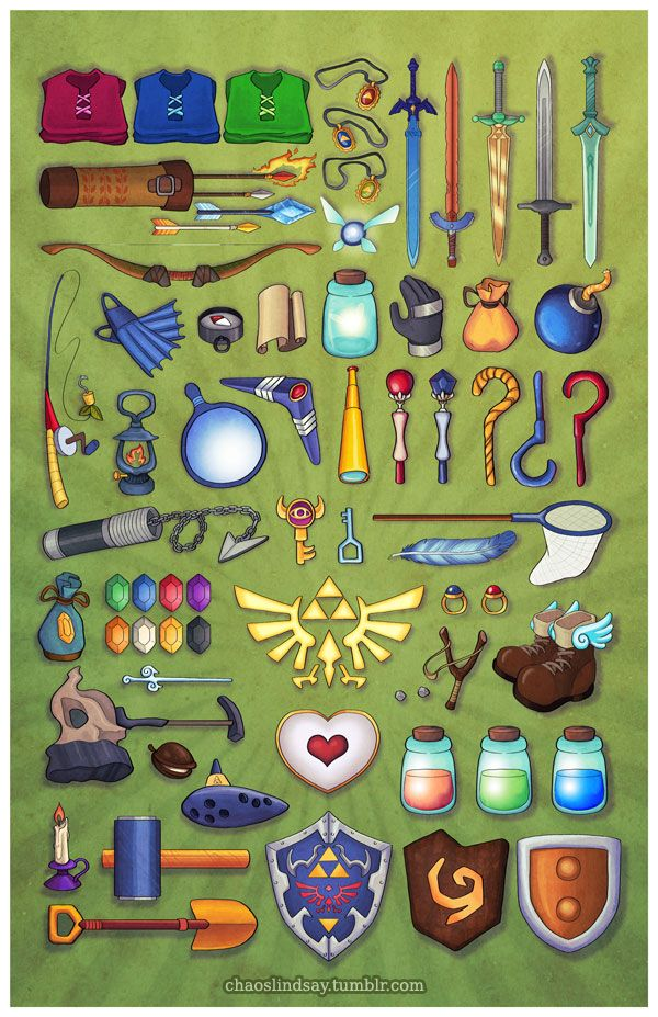 The Legend of Zelda Fan Art #TheLegendOfZelda #Nintendo