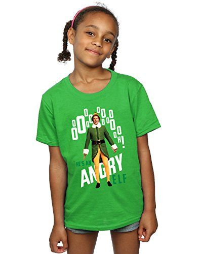 7d1153bbe Elf Girls Angry T-Shirt