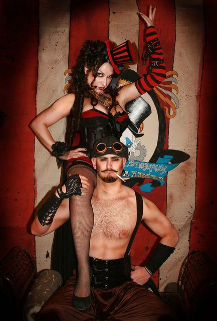 Steampunk Circus by naponyexpress, via Flickr