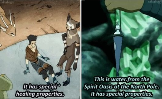 The Legend of Korra/Avatar the Last Airbender: wonder if they're the same kind of water