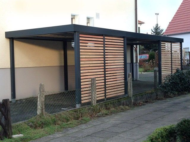einzelcarports carceffo moderne carports garagen huise pinterest car ports pergolas. Black Bedroom Furniture Sets. Home Design Ideas