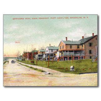 Ft. Hamilton, Bay Ridge, Brooklyn NYC Vintage Postcard