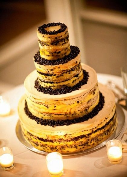 Tiered Chocolate Chip Cookie Cake
