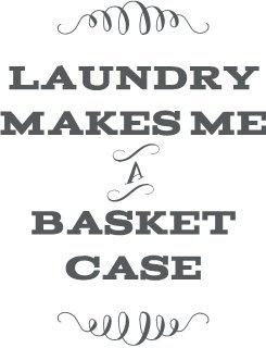 Laundry Makes Me a Basket Case!