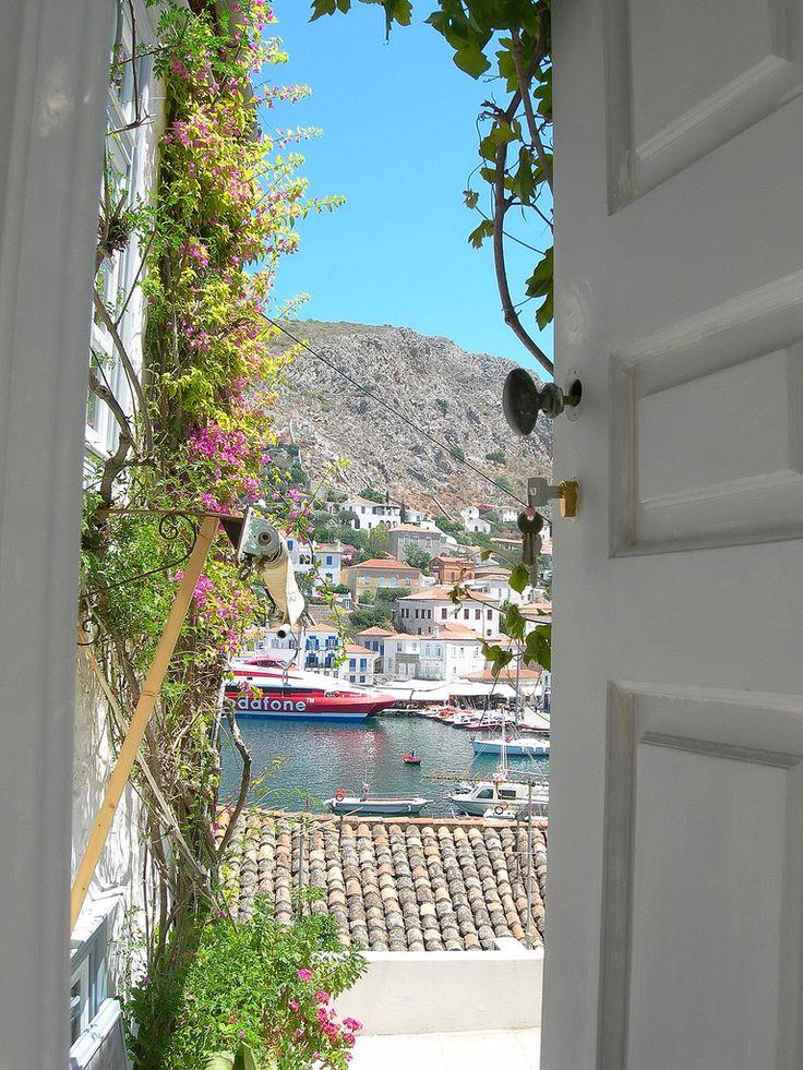 Ok, ready to go back now-- Hydra, Greece
