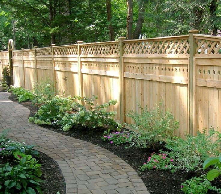 19 best images about lattice fence on pinterest rustic for Lattice garden fence designs