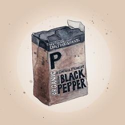 Waitrose Ground Black Pepper
