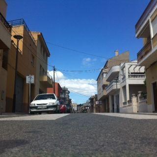 perspectiva d'un carrer