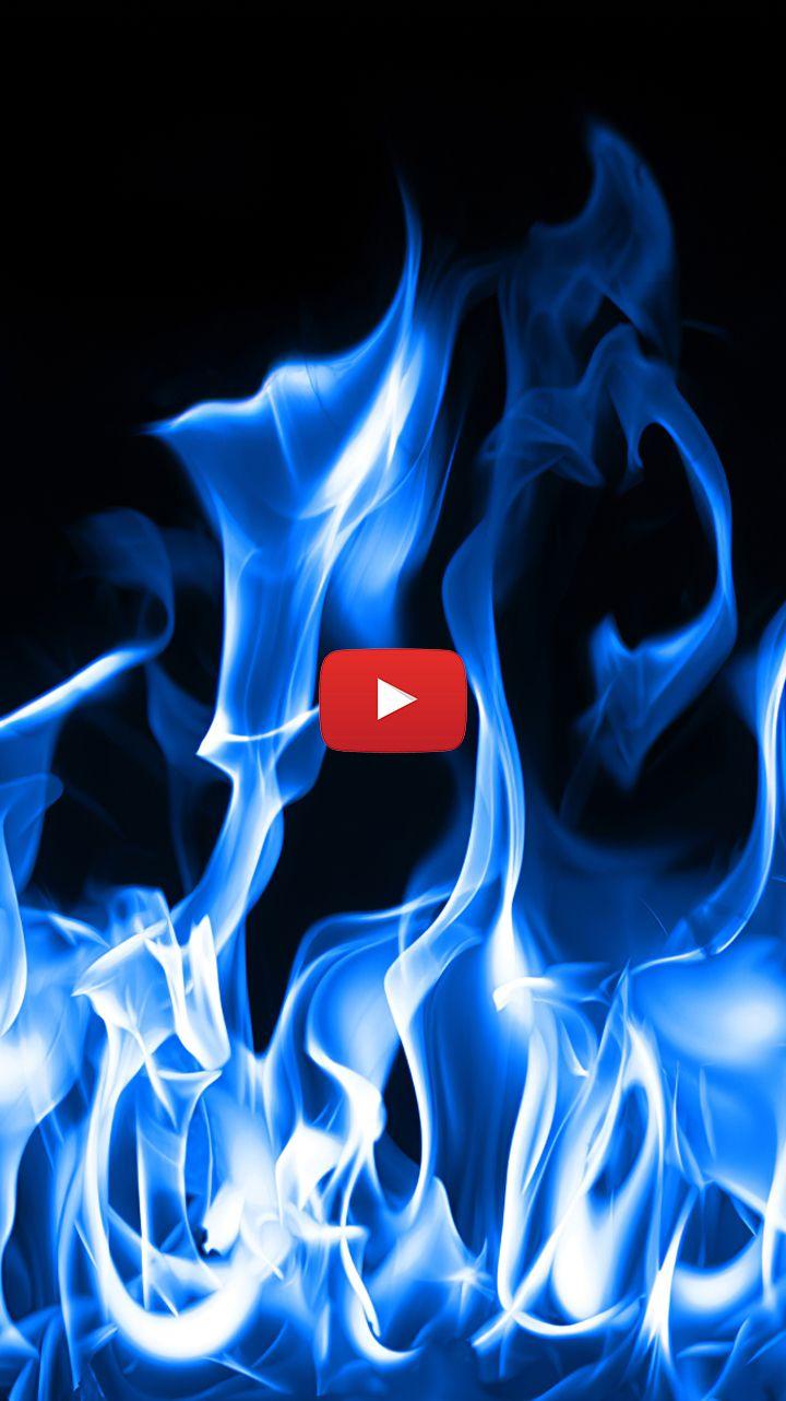 Blue Fire Wallpaper Aesthetic Blue Flame Wallpaper Blue Flames Art Fire Blue Fire Gif In 2020 Live Wallpapers Blue Flames Flame Art