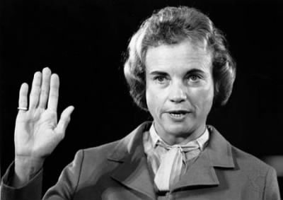 July 7, 1981: Sandra Day O'Connor becomes the first woman to serve on the Supreme Court.