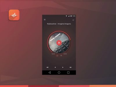 Music Player App - WIP by Anish Chandran