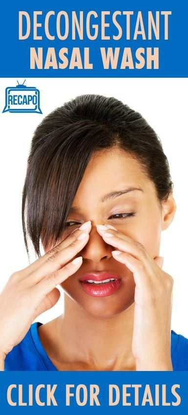 Natural Remedies For Nasal Congestion Due To Allergies